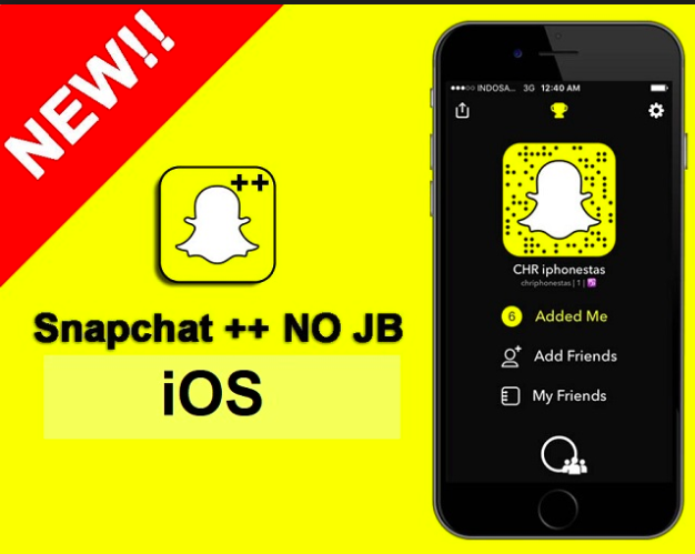 SnapChat++ on iOS Without Jailbreak with AppValley App